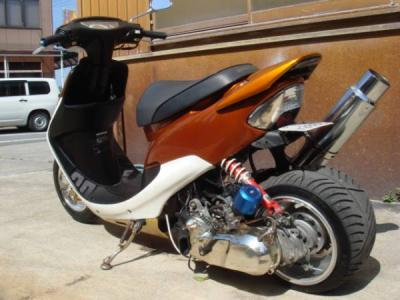 Тюнинг макси скутера