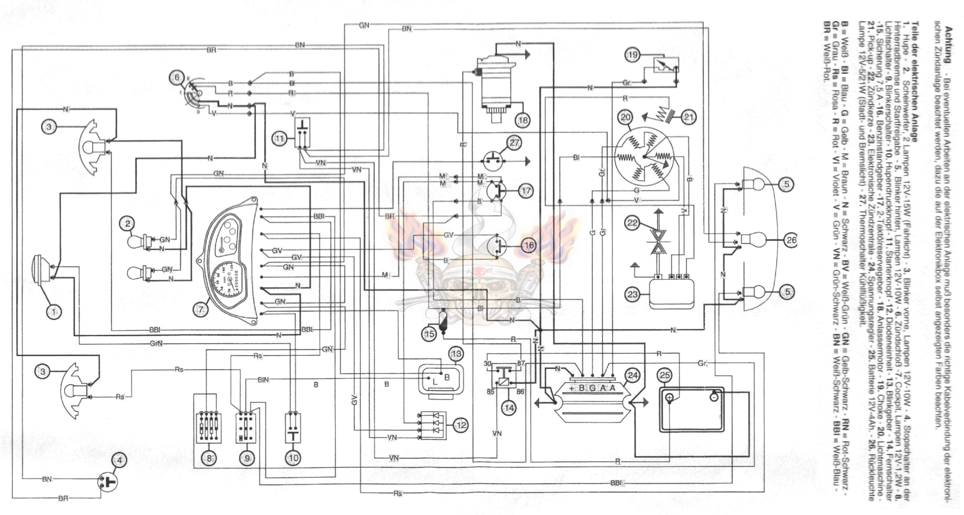 Fein Chevy One Wire Lichtmaschine Umwandlung Zeitgenössisch - Der ...