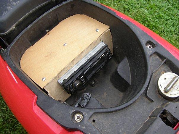 Музыка на скутер 150 кубов!